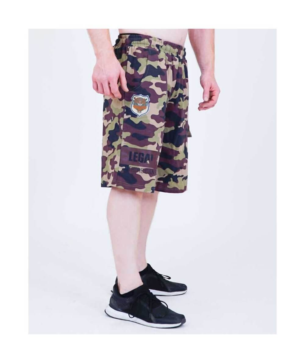"SHORTS ""CAMOU"" 6166-864HERREN Legal Power"