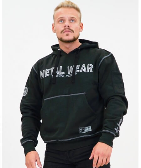"HOODIE ""METAL WEAR"" 4310-865HERREN Legal Power"