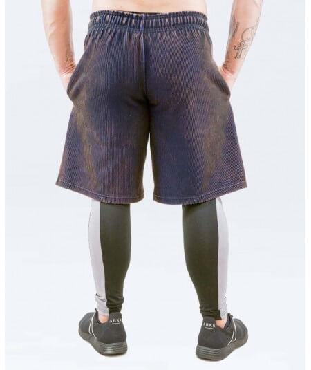"""WASHED FITNESS """"OTTOMAN"""" SHORTS 6402-924HERREN Legal Power"""