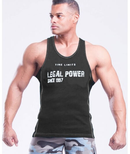 "MUSCLE TANK TOP ""LP"" 2801-101SALE Legal Power"