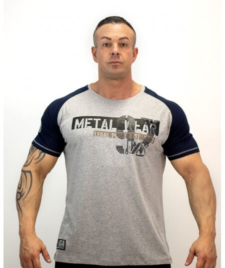 "T-SHIRT "" METAL WEAR LP"" 3300-869HERREN Legal Power"