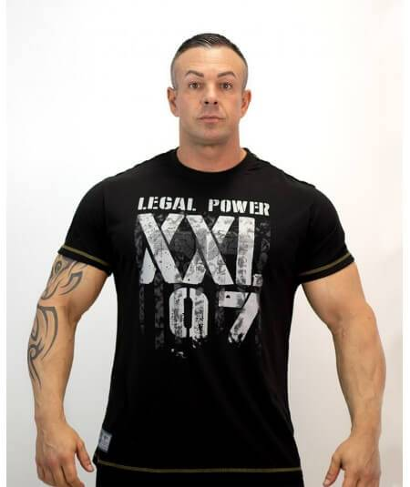 "T-SHIRT ""XXL 97 EAGLE"" 2012-869HERREN Legal Power"