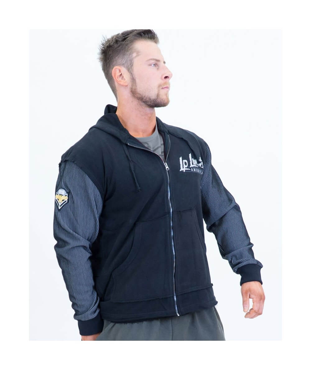 "ZIPPED HOODIE ""OTTO-MAN/MIX"" 2.0 ""LPLIMITS"" 4003-864/922HERREN Legal Power"