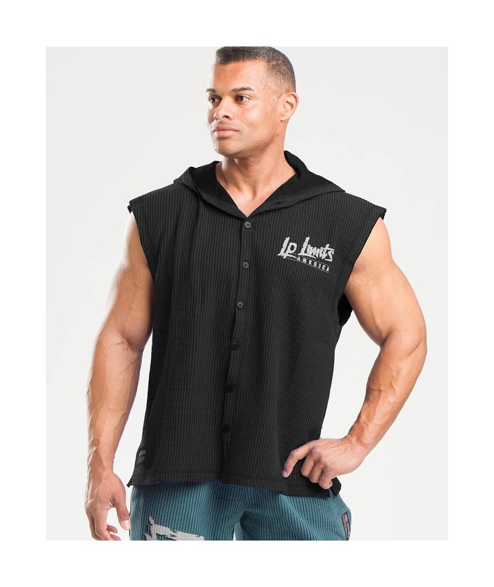 "SLEEVELESS HOODIE BOSTON ""LP LIMITS"" 4896-405Uomini Legal Power"