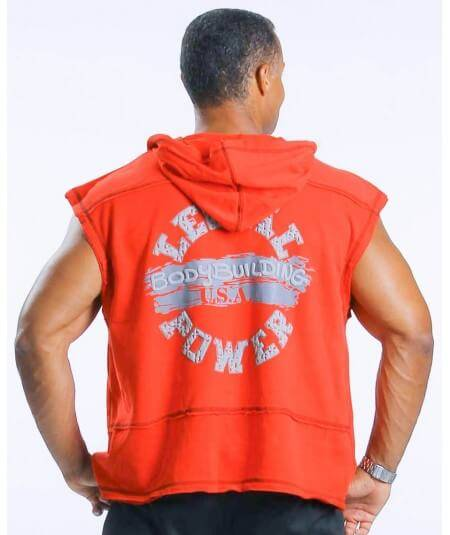 "SLEEVELESS HOODIE ""BB"" 4895-864HERREN Legal Power"