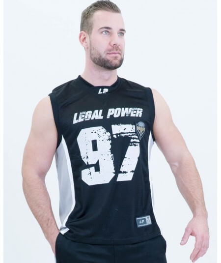 "MESH BASKETBALL SHIRT ""LEGAL POWER 97"" 2701-760Home Legal Power"