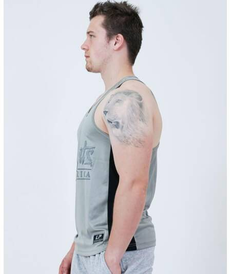 "MESH MUSCLE TANK TOP ""LP LIMITS"" 2792-760MEN Legal Power"