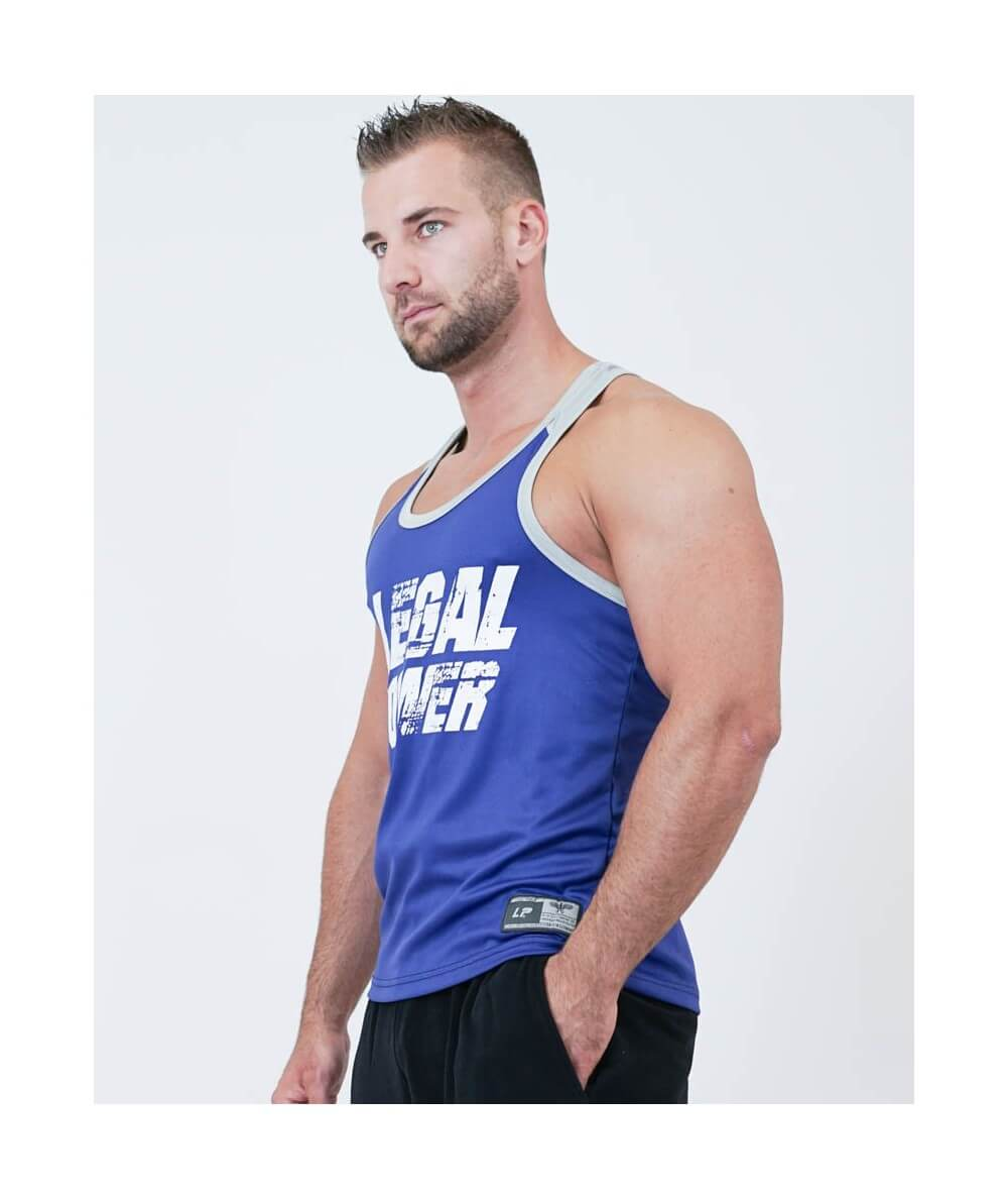 "MESH MUSCLE TANK TOP ""LEGAL POWER"" 2794-760MEN Legal Power"