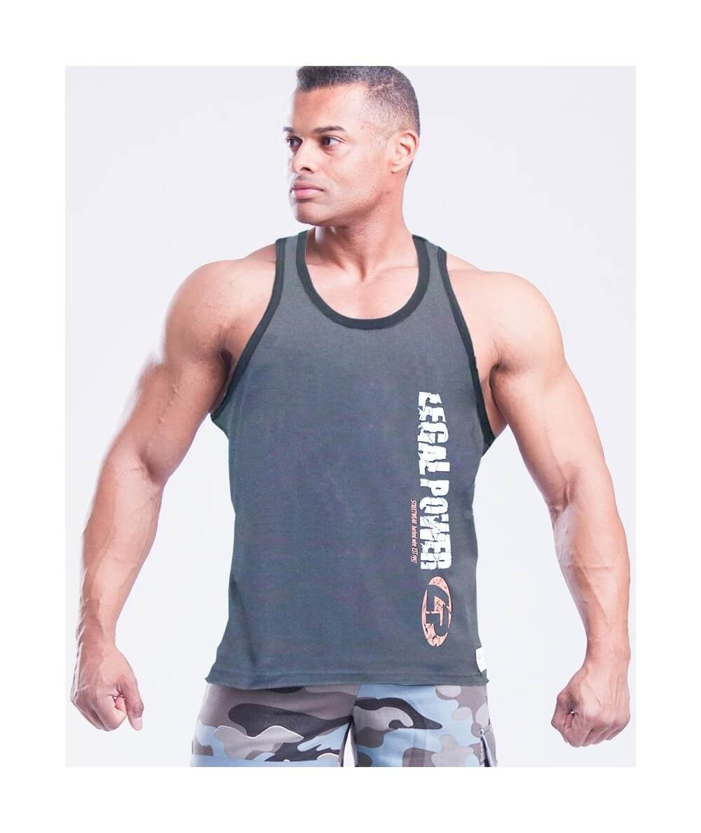 "MUSCLE TANK TOP ""MUSCLE BEACH"" 2756-866SALE Legal Power"