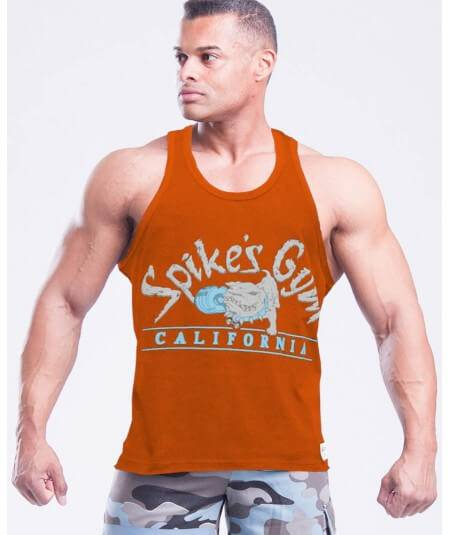 "MUSCLE TANK TOP ""SPIKE´S GYM"" 2759-866SALE Legal Power"