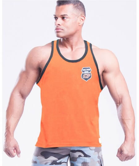 "MUSCLE TANK TOP ""BATCH ART"" 2799-866SALE Legal Power"