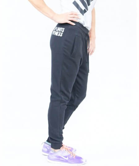 "LADIES SWEATPANTS ""LP LIMITS OTTOMIX"" 666-864DAMEN Legal Power"