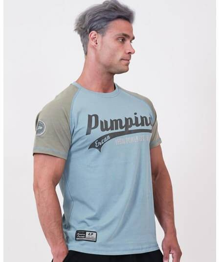 "T-SHIRT ""PUMPING ERCAN"" 9700-869Uomini Legal Power"